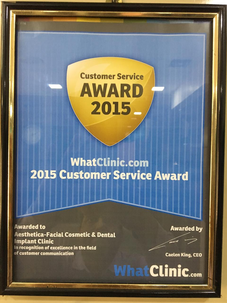 Whatclinic.com - 2019 Customer Service Award