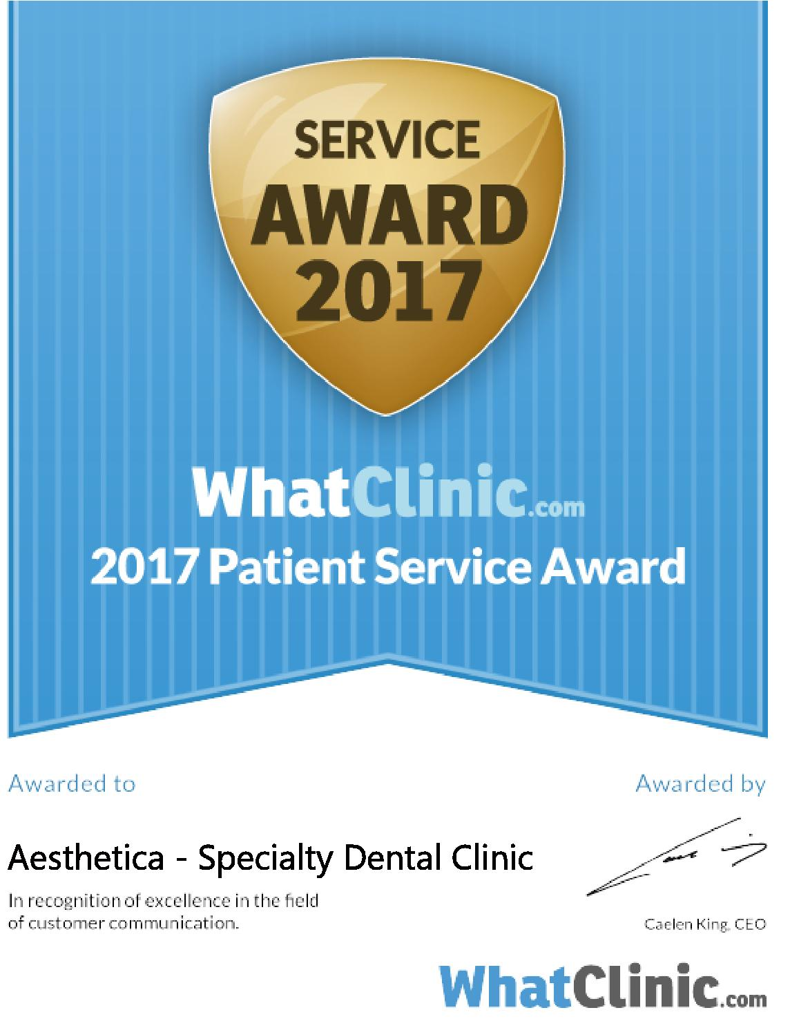 Whatclinic.com – Award Winner 2017