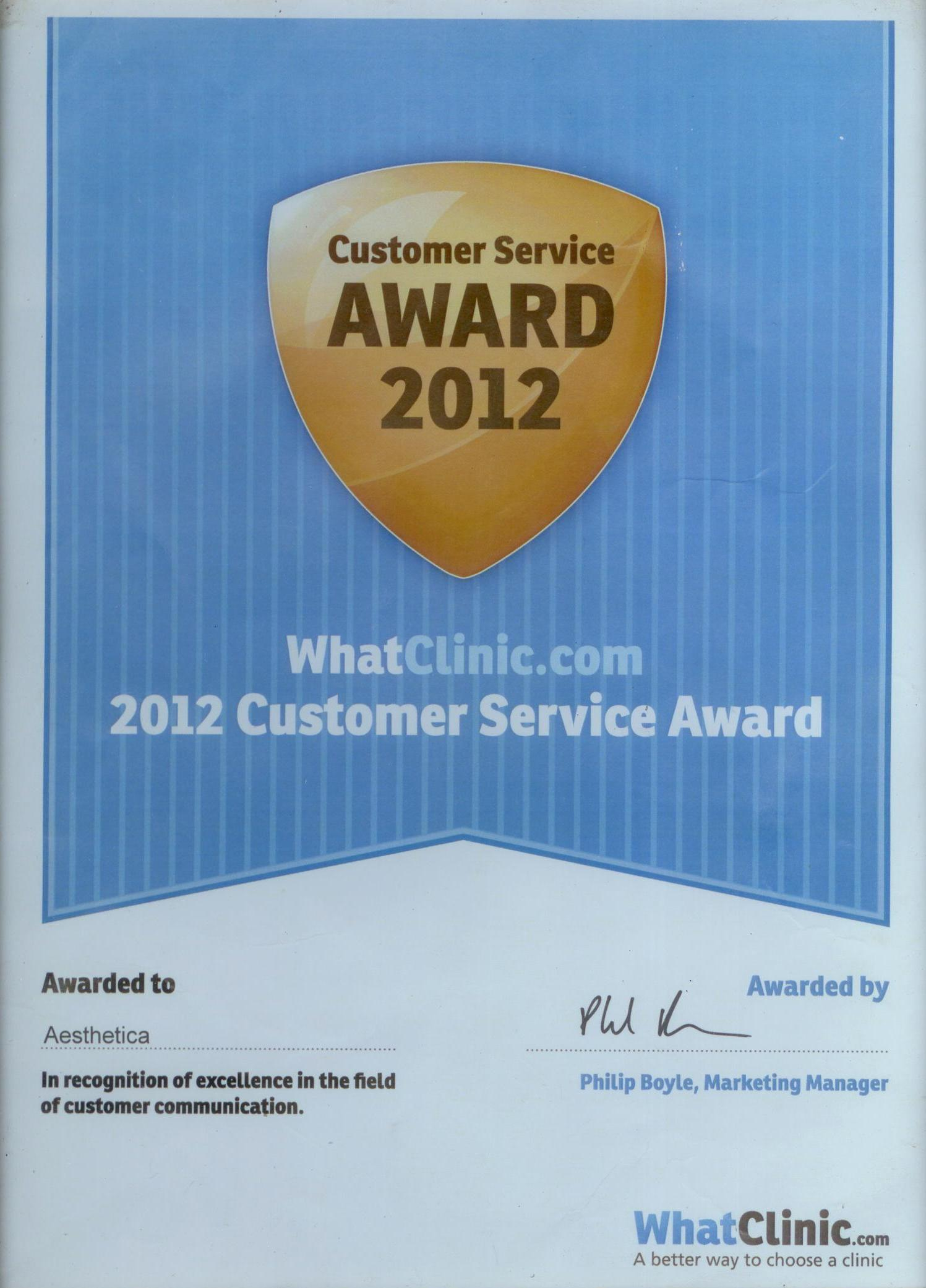 Whatclinic.com – Award Winner 2013