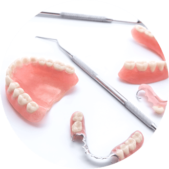 Permanent False Teeth