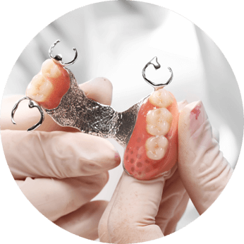 partial dentures for front teeth