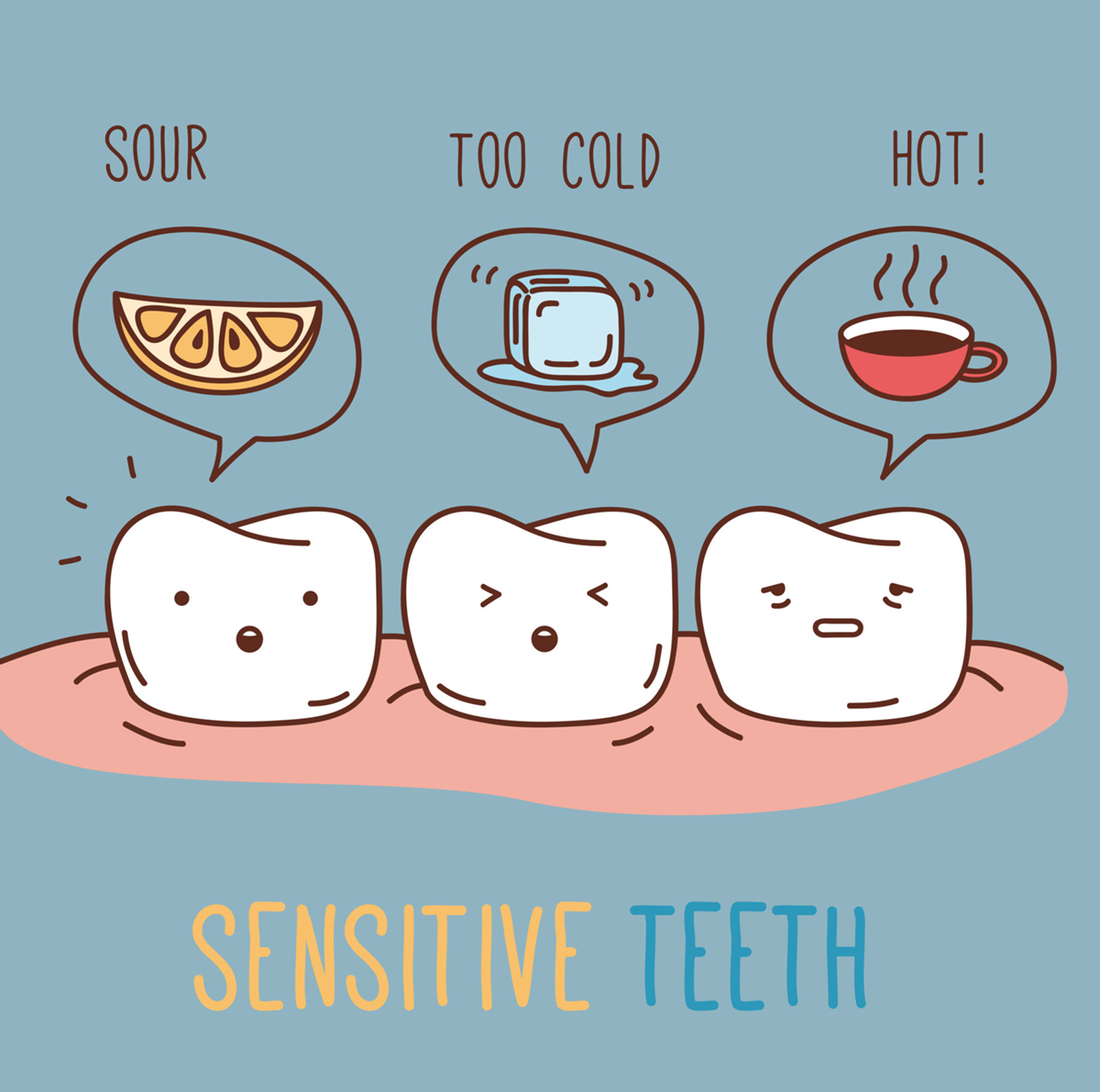 Teeth Sensitivity – Causes and Relief