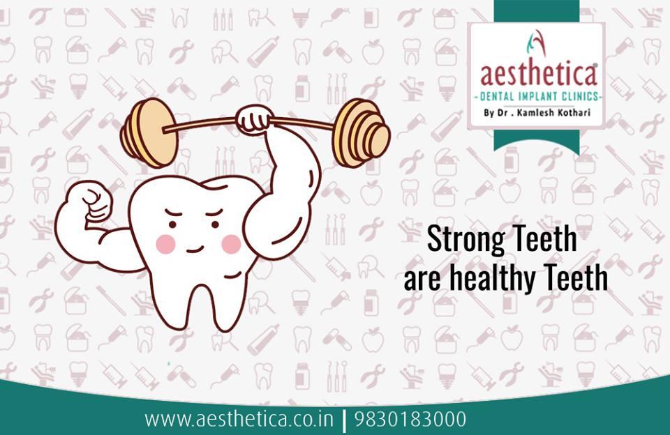 Dependency of teeth on oral hygiene