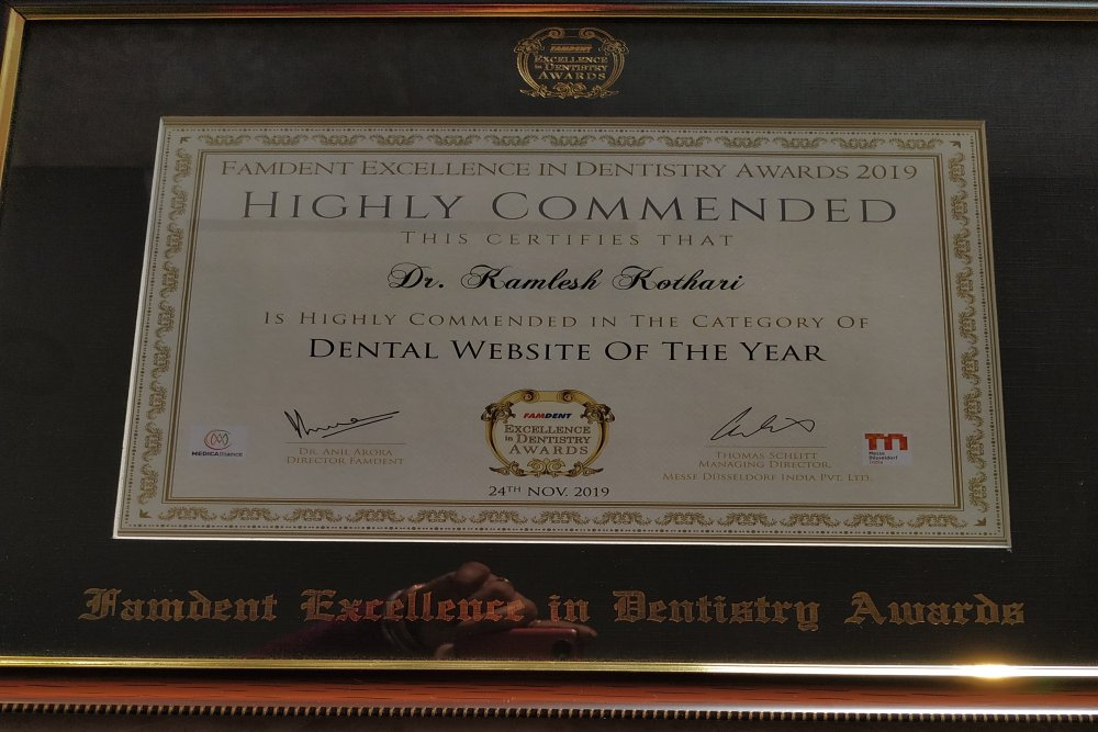 Dental Website of the Year 2019